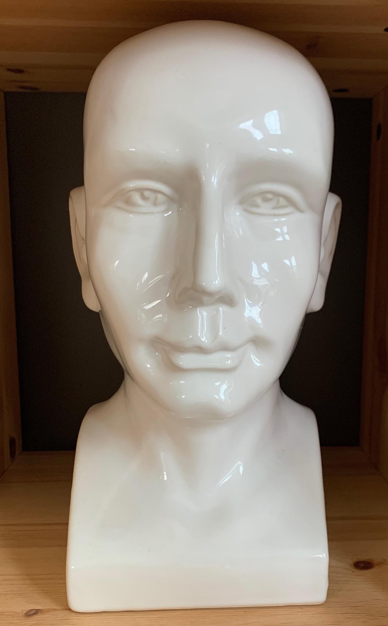 Ceramic Bust $10