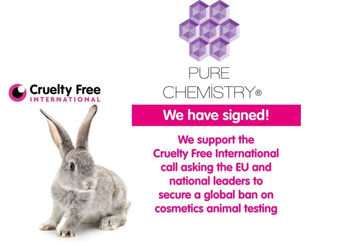 We are co-signatories to the @crueltyfreeintl call asking the EU and national leaders to secure a global ban on cosmetics animal testing. Together let's #endanimaltesting #Banniversary