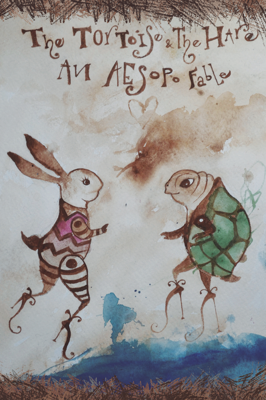 Tortoise and the Hare Hobuco Luis Macias music fairy tales