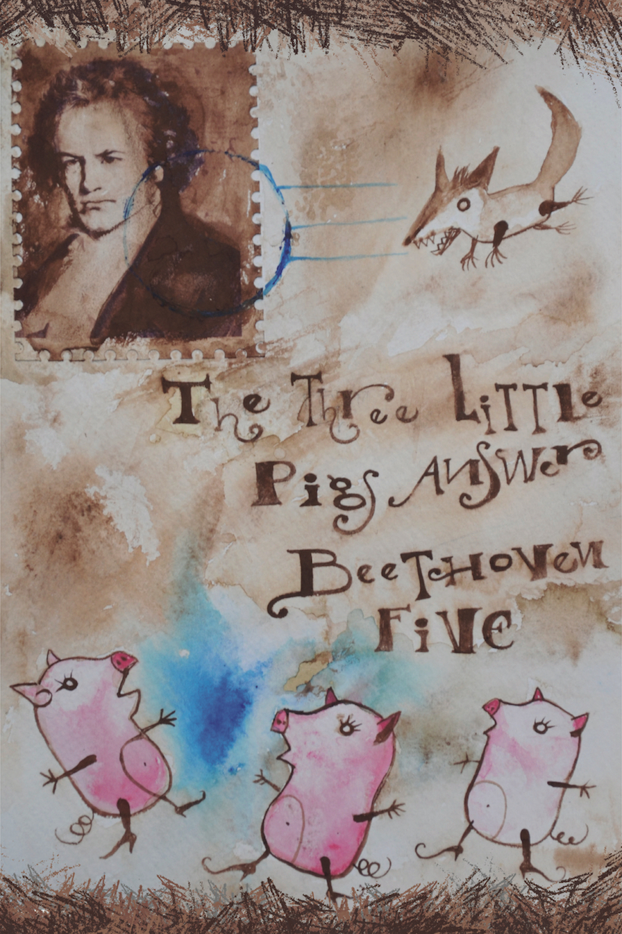 Three Little Pigs Beethoven Luis Macias music fairy tales