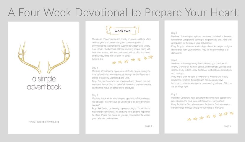 Jen Wise // Free Advent Devotional