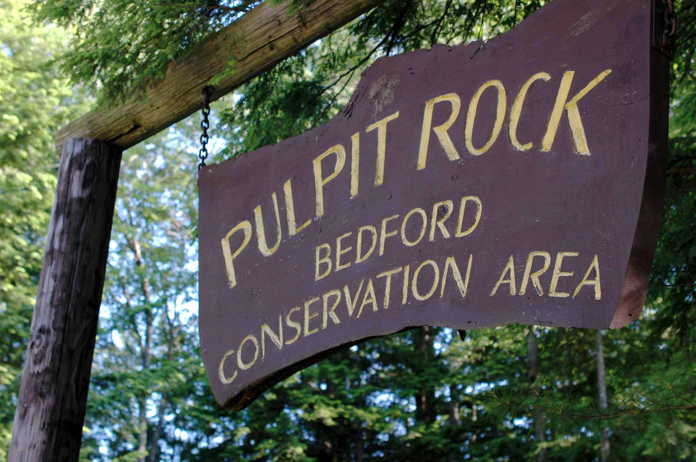 Welcome to Pulpit Rock Conservation Area!