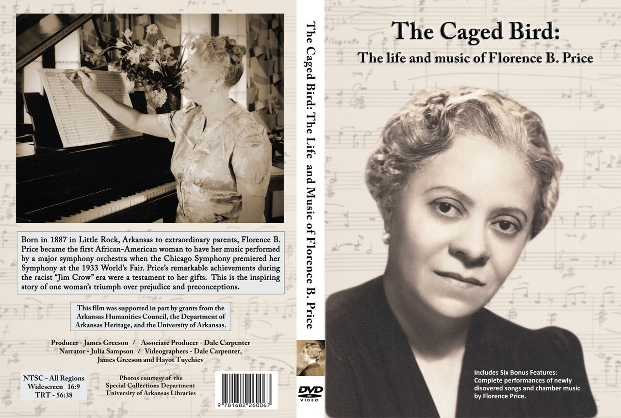 Emmy nominated,  The Caged Bird  was created by Producer James Greeson.  Karen Walwyn is the featured pianist in the DVD.  Click   here  to see an excerpt of the DVD.  It is currently available on Amazon.com or at the following website address:  https://www.uapress.com/product/the-caged-bird/