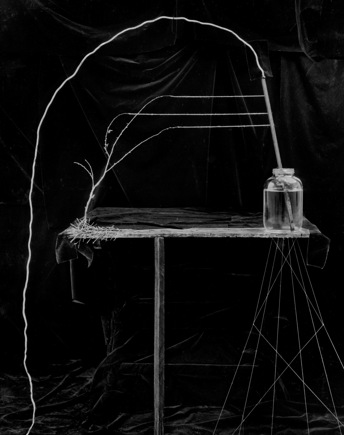 Jar and Wire   1987   35X28.5
