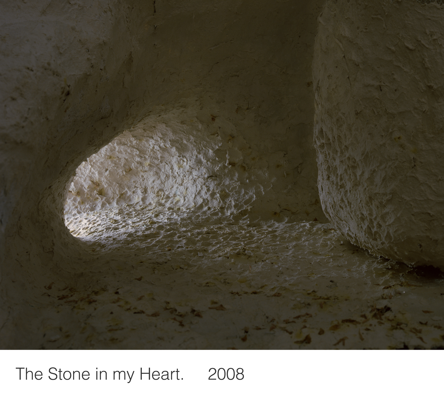 The Stone in my Heart   2008   16X20