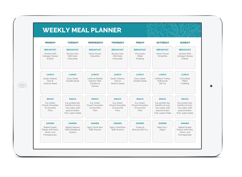 Weekly Meal Planning -