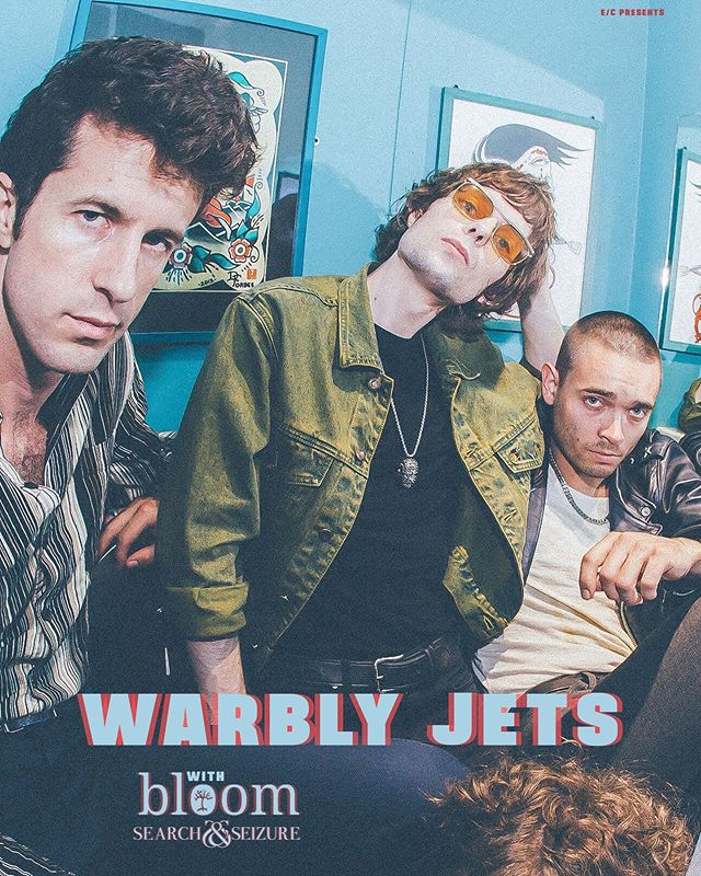 Wednesday night we play @riotroomkc with @warblyjets and @bloomlfk. We'll be playing new songs and making new faces whilst playing said songs. Wednesday IS the new Friday. Get with us!