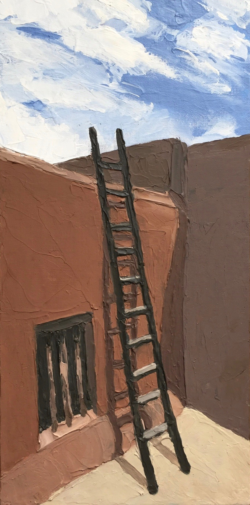 Abiquiu No. 1 (Georgia's Ladder)