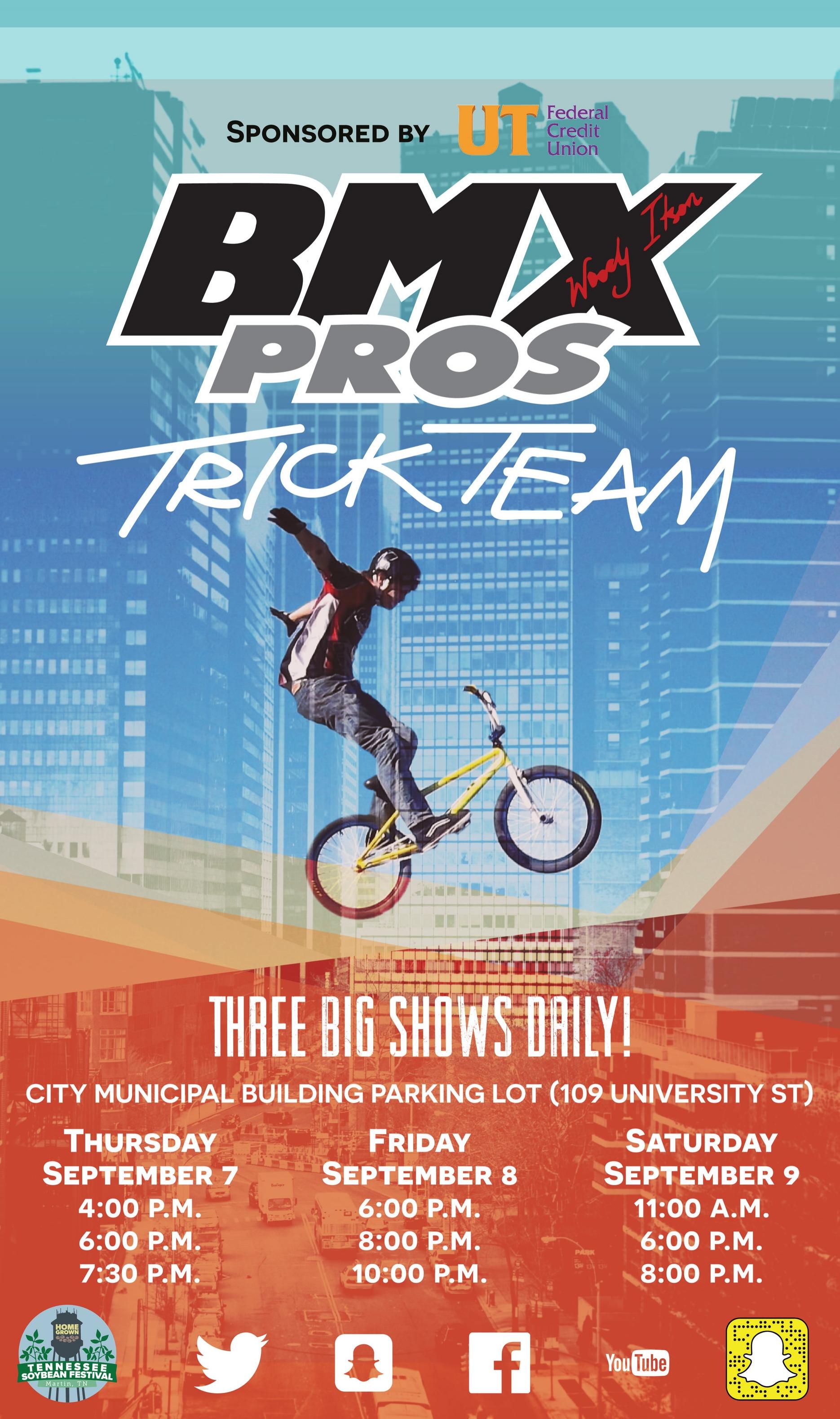 BMX Pros Bike Show