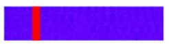 3 ième keup  :    Ceinture bleue barre rouge