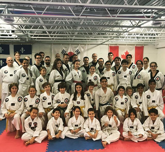 Photo de groupe :) #taekwondoquebec #taekwondo