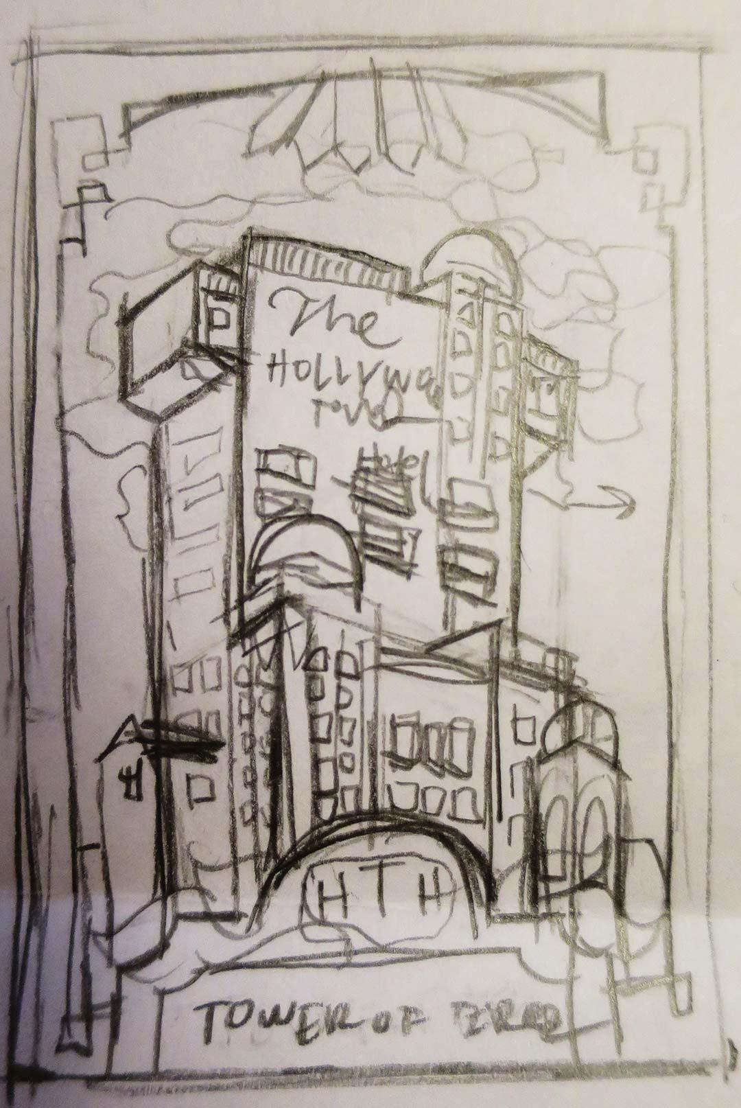 1) Initial Sketch