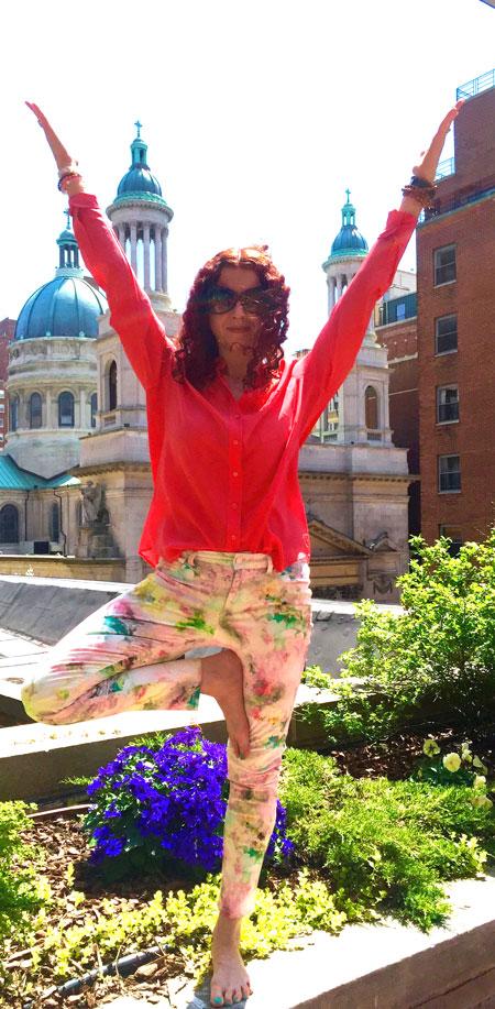 Julie Graham Health Coach and Yoga Instructor