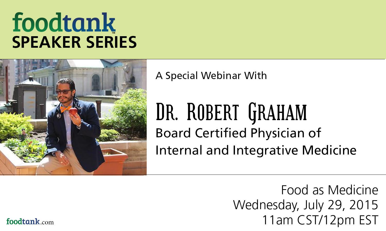 DR. ROBERT GRAHAM SPEAKER