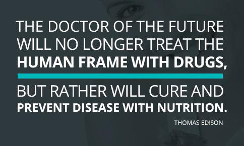 Thomas Edison Medicine Quote