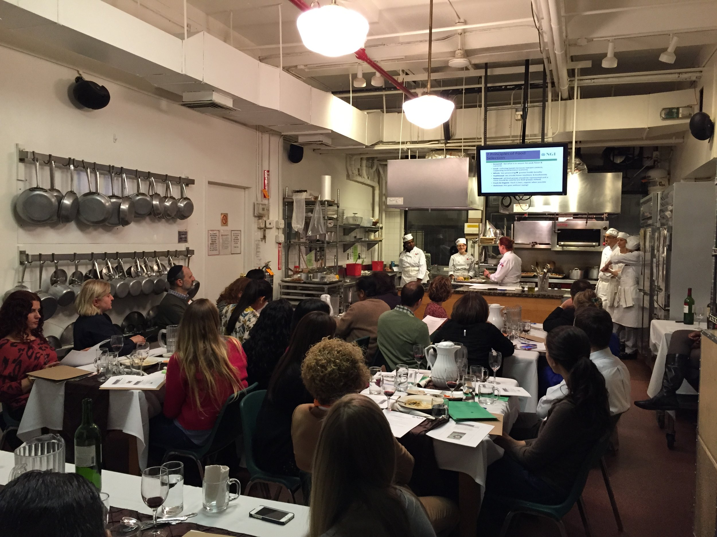 Living to 100: Beyond Genetics Cooking Class