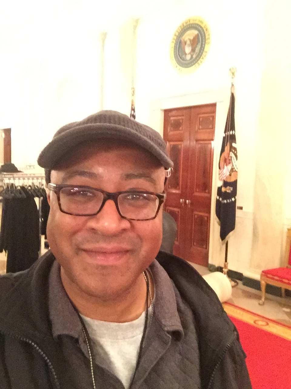 In The White House