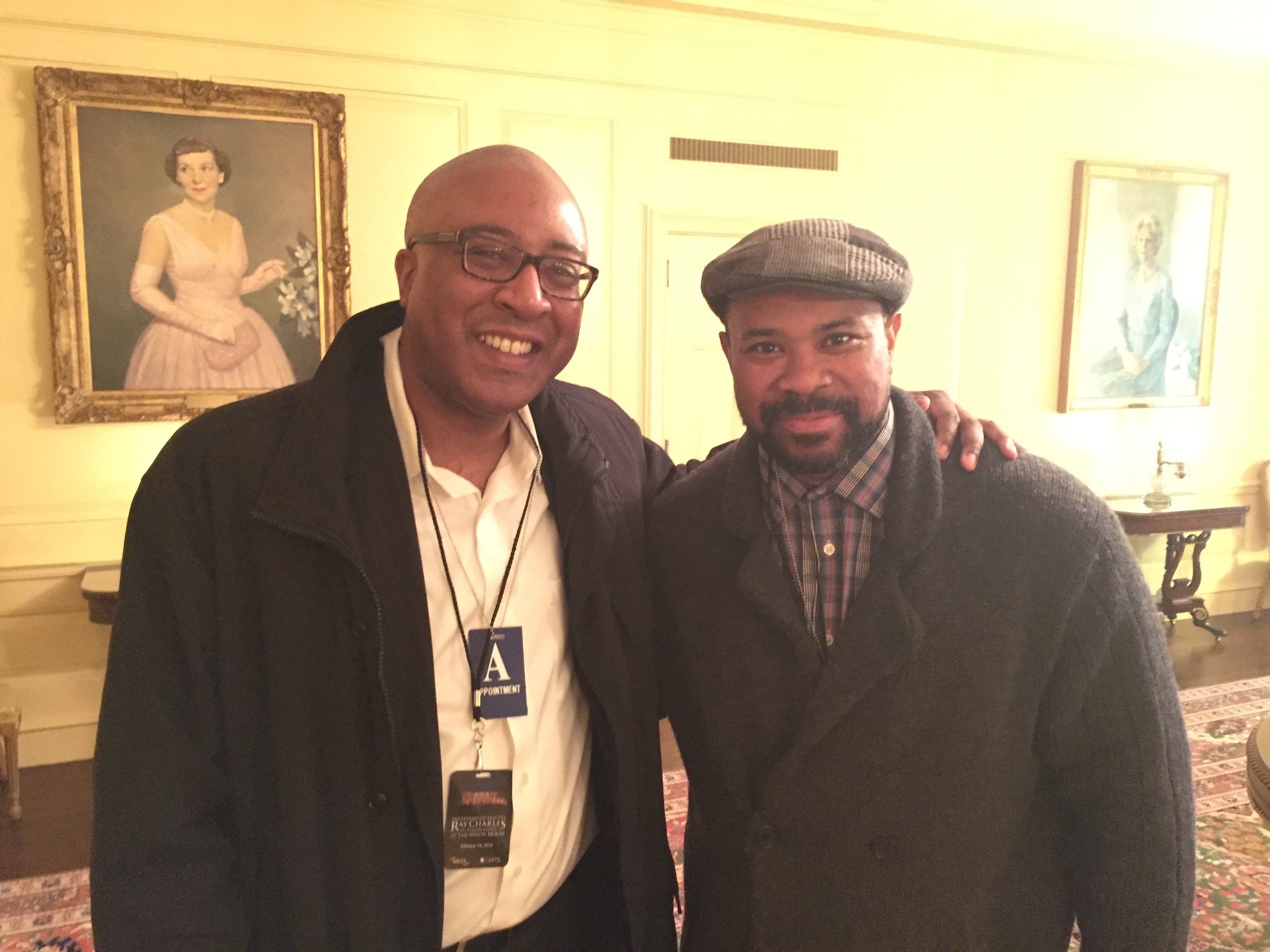 In the White House with Shedrick Mitchell
