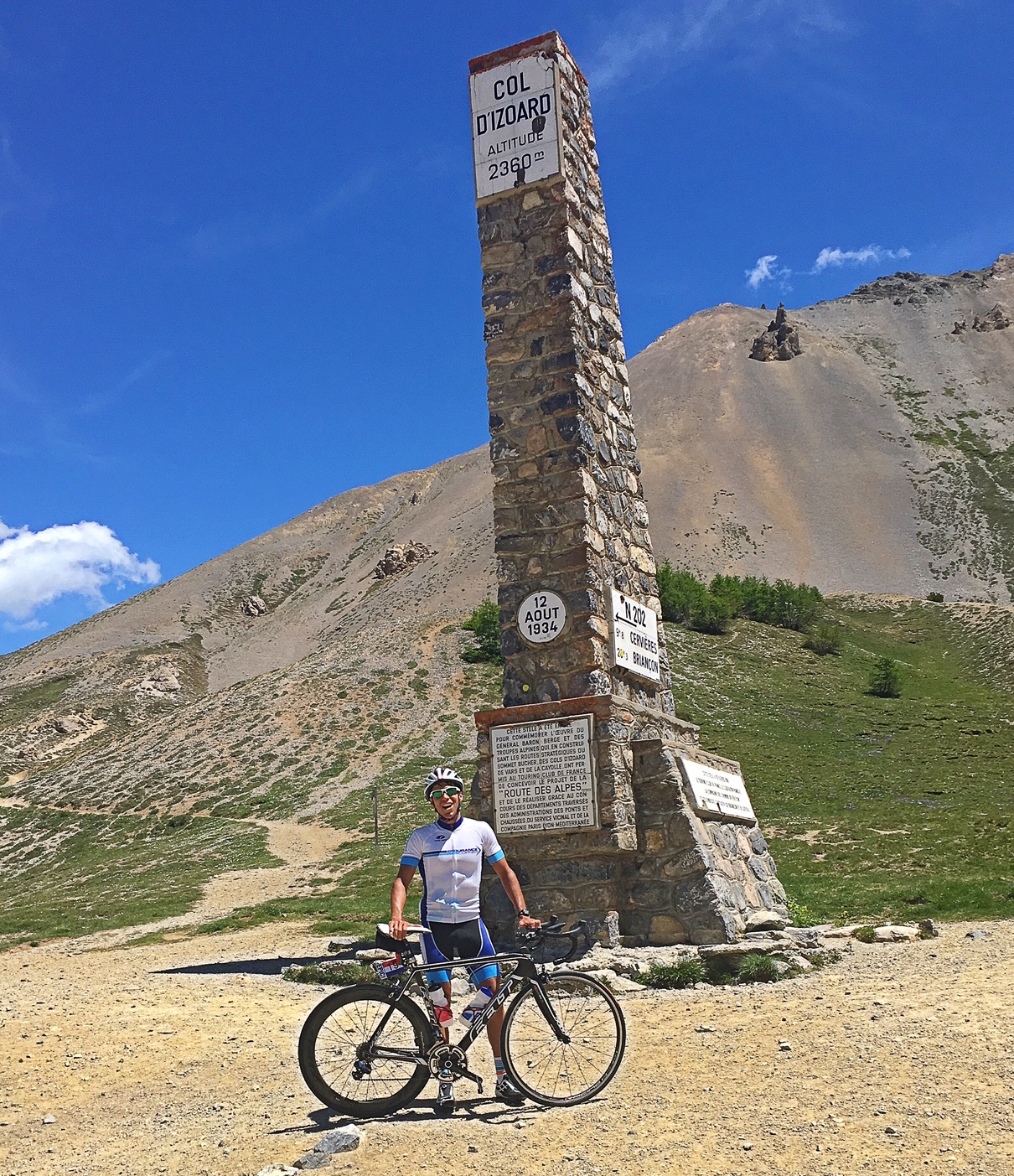 Col D'izoard Summit - Feeling every inch of that 2360m altitude