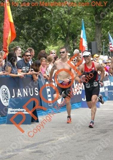 NYC Triathlon - 2012 - Pic 1