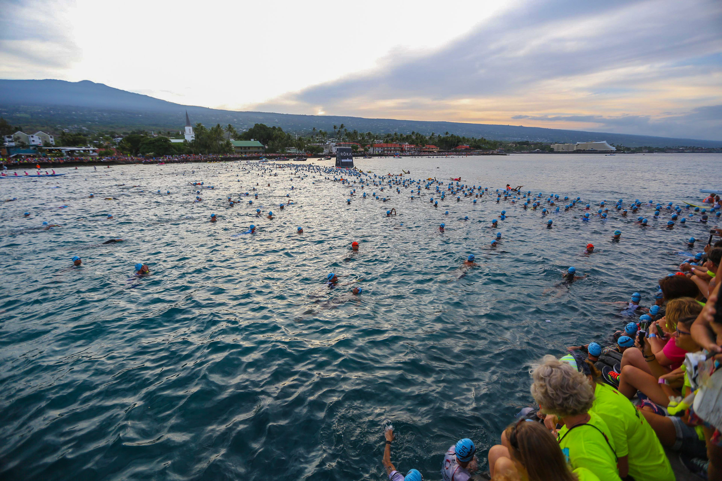 Ironman World Championships Kona 2016 Swim Start