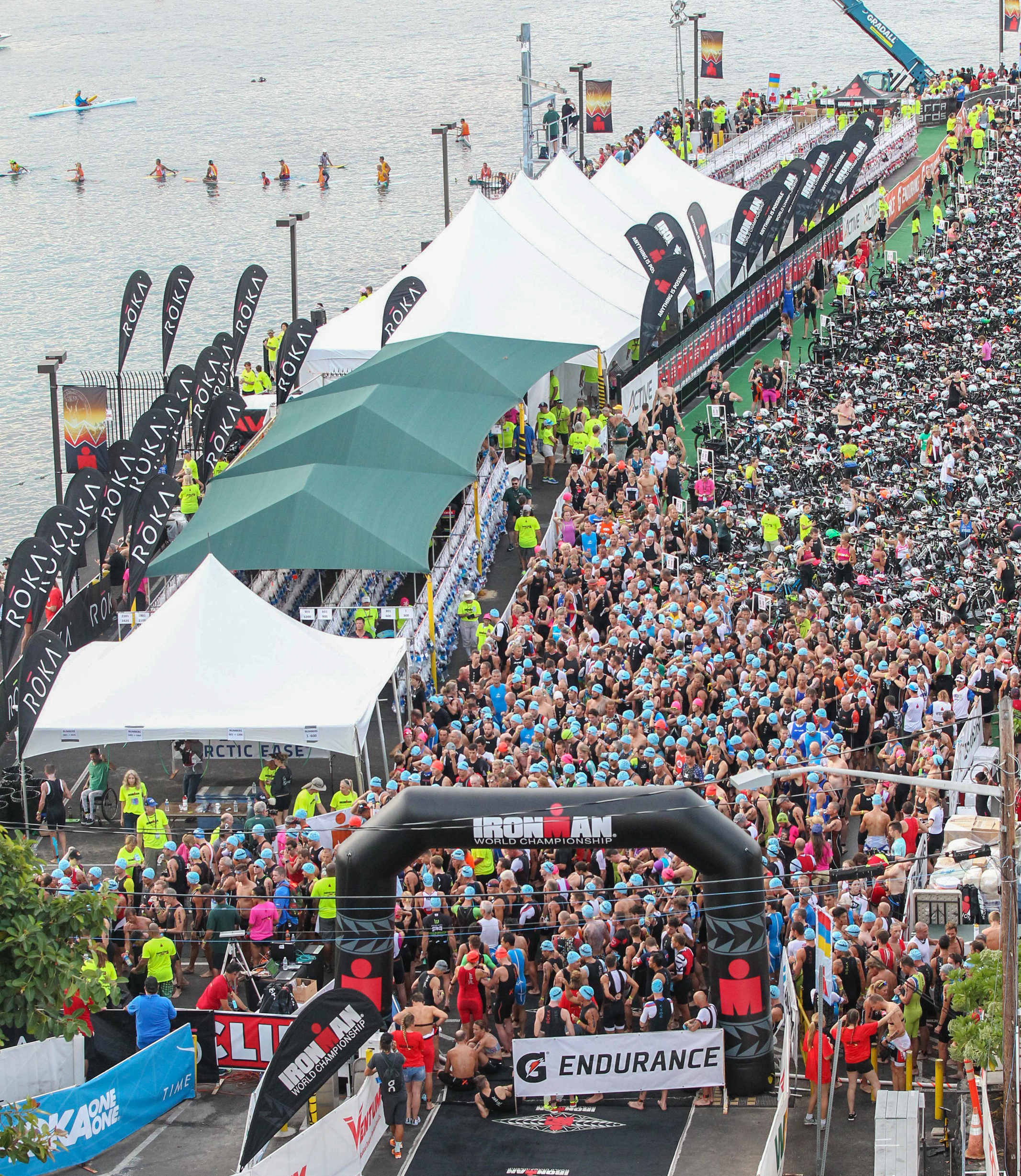 Ironman World Championships Kona 2016 Transition Pier