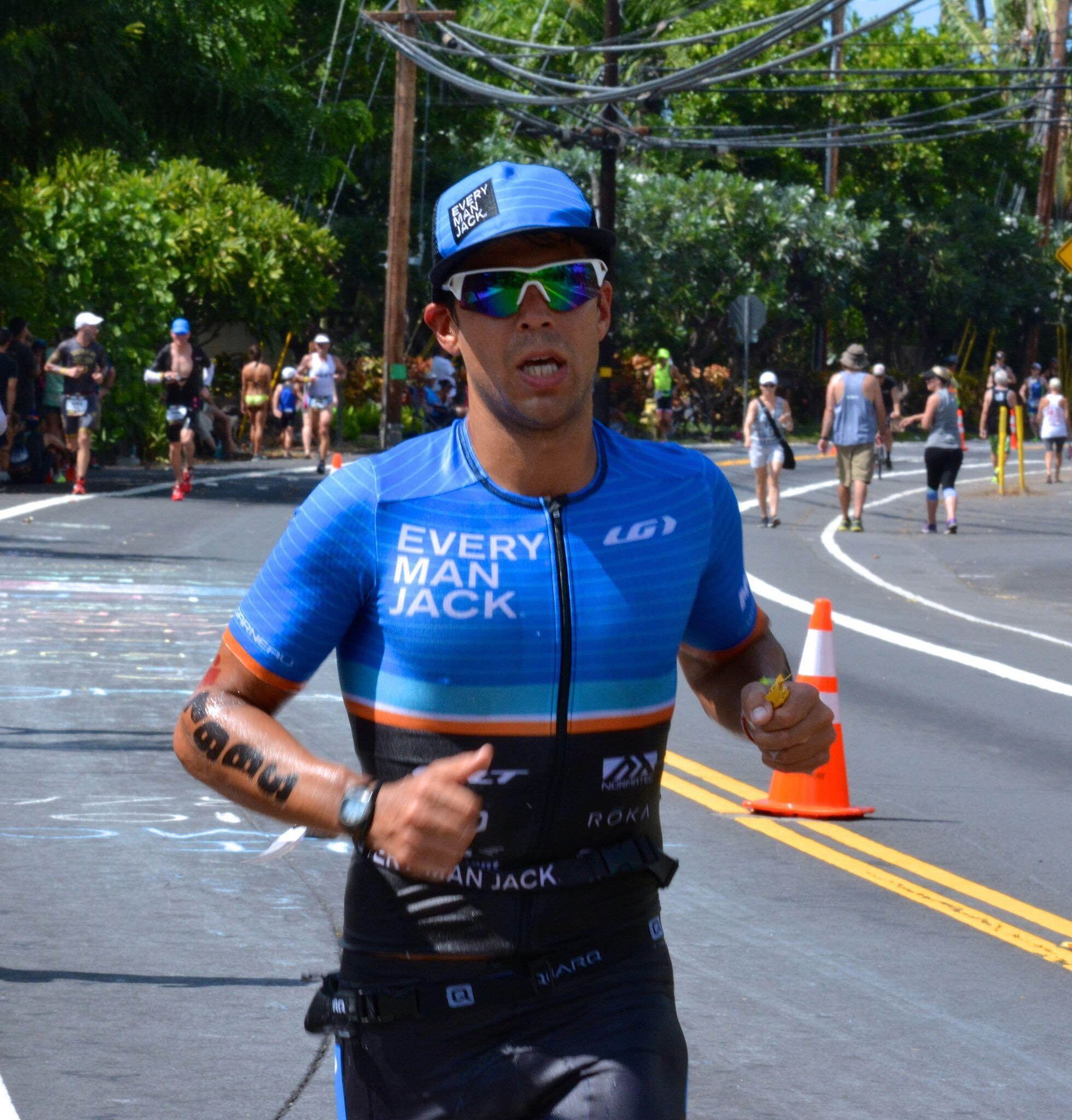 Ironman World Champs Kona Ali'i Road Run Course