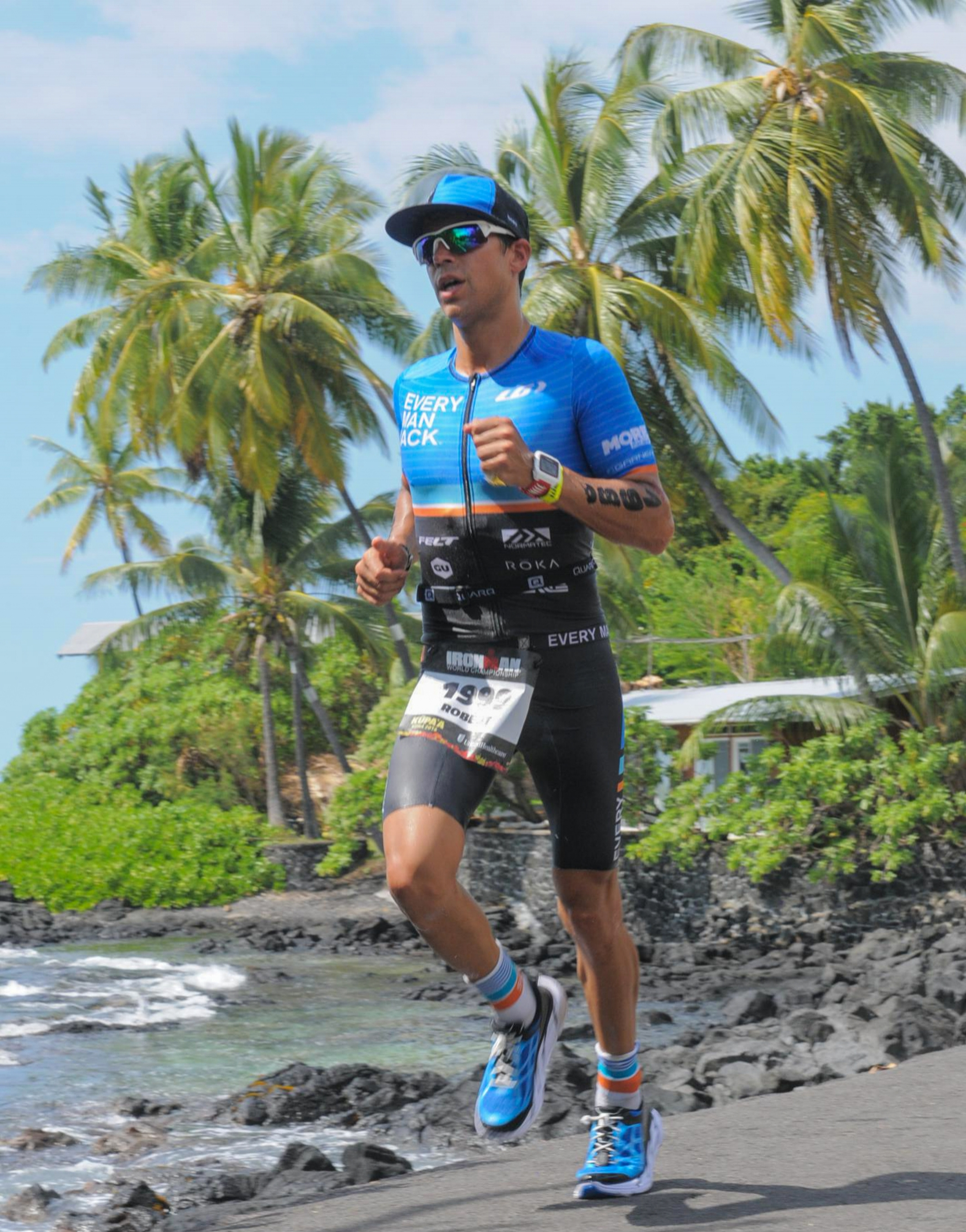 Ironman World Champs Kona Ali'i Run