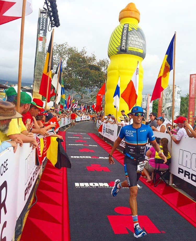 Ironman World Champs Kona Finishing Shoot