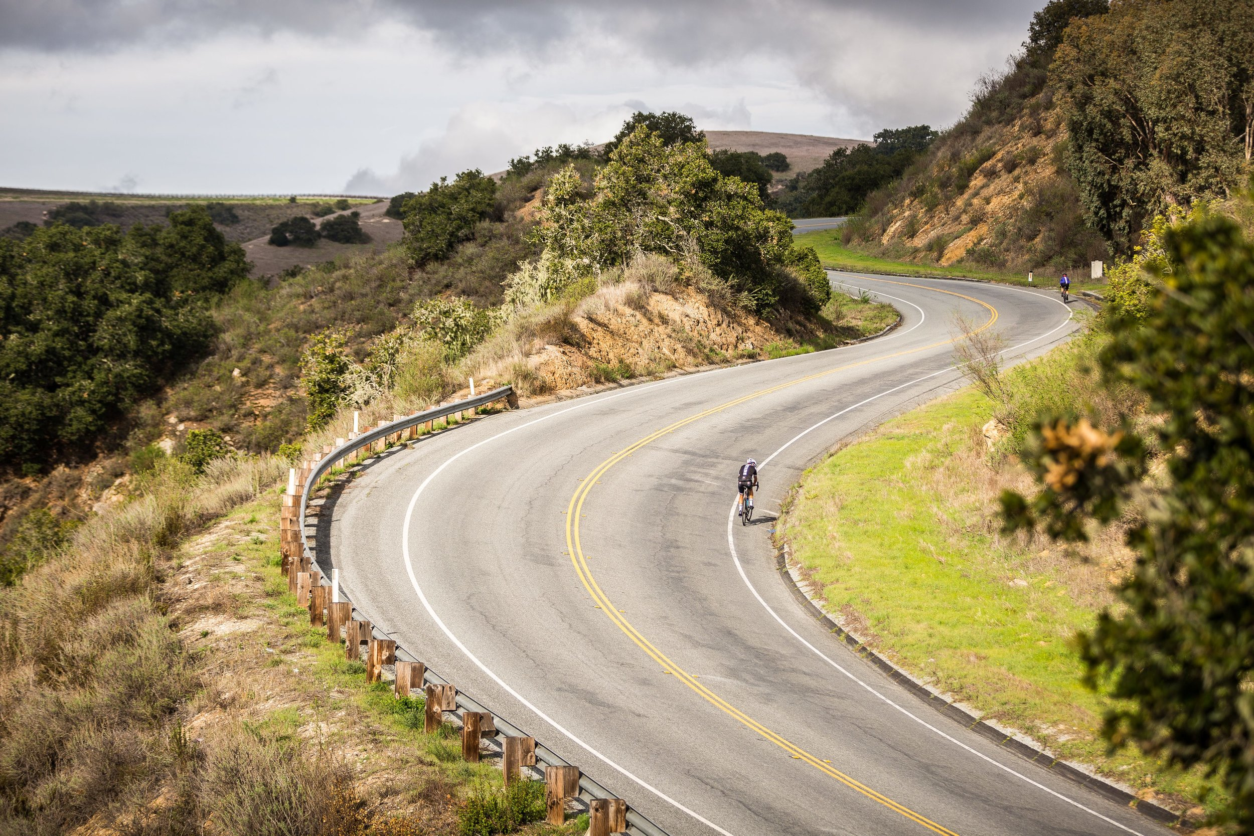 Laureles Grade Cycling California