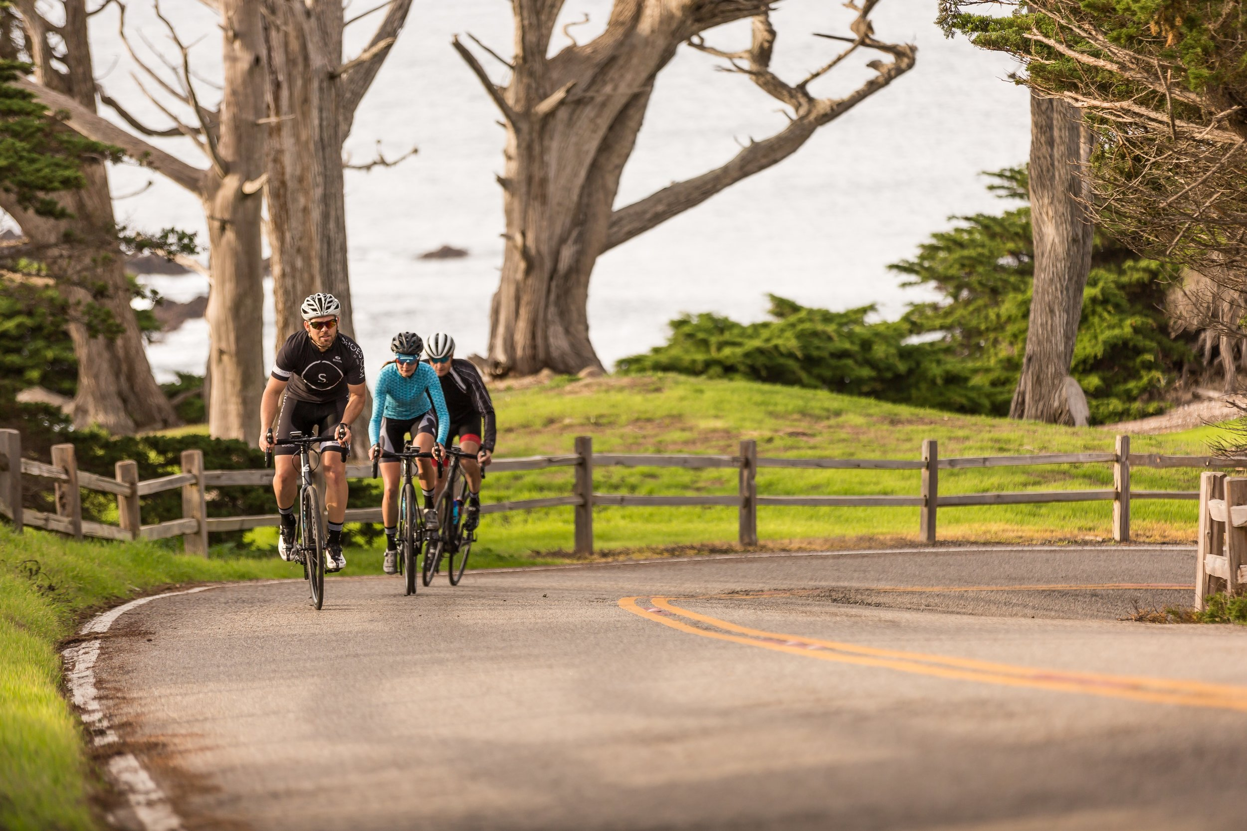 17 Mile Drive Pebble Beach Cycling
