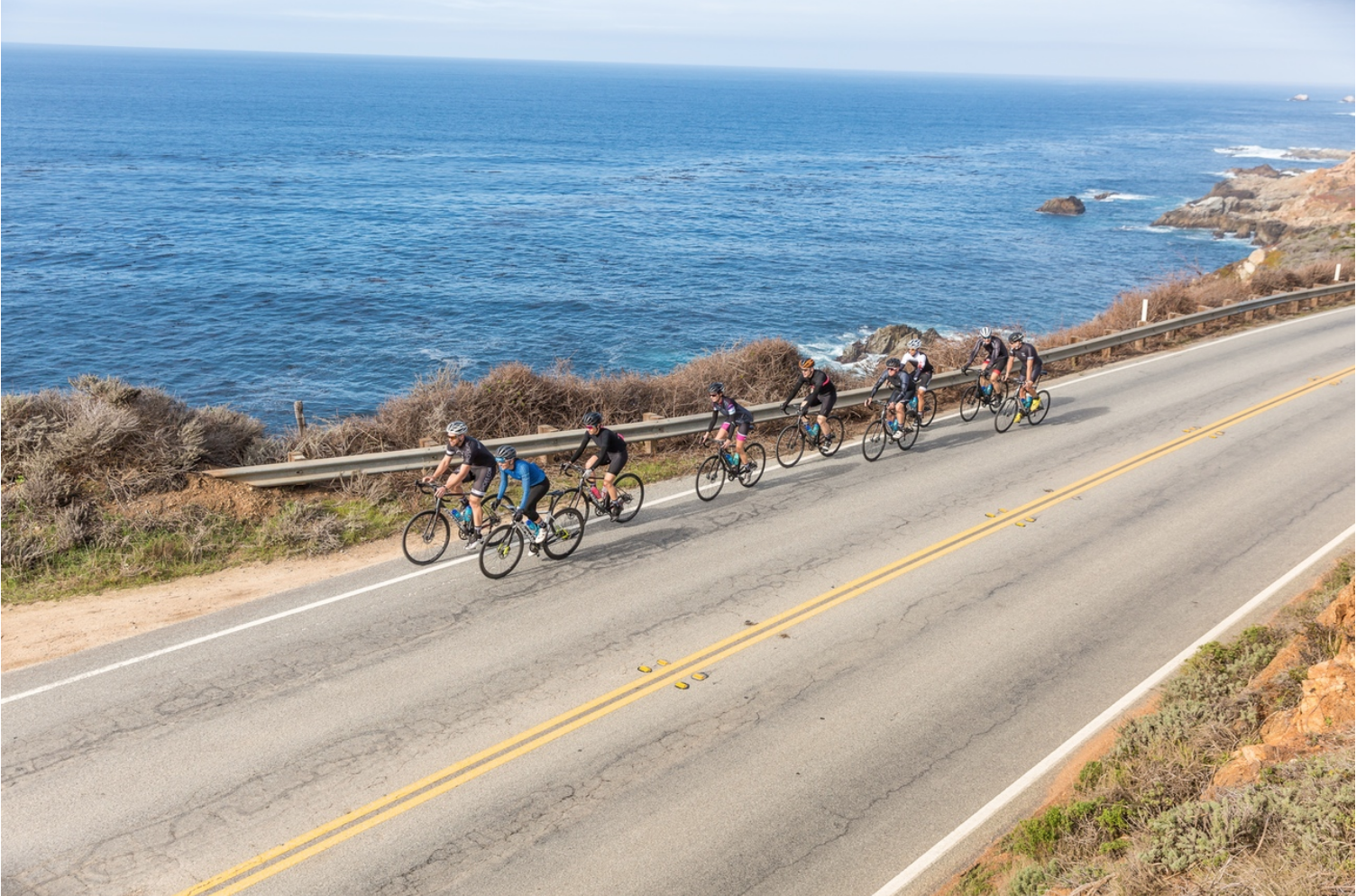 Big Sur Cycling Route 1 California