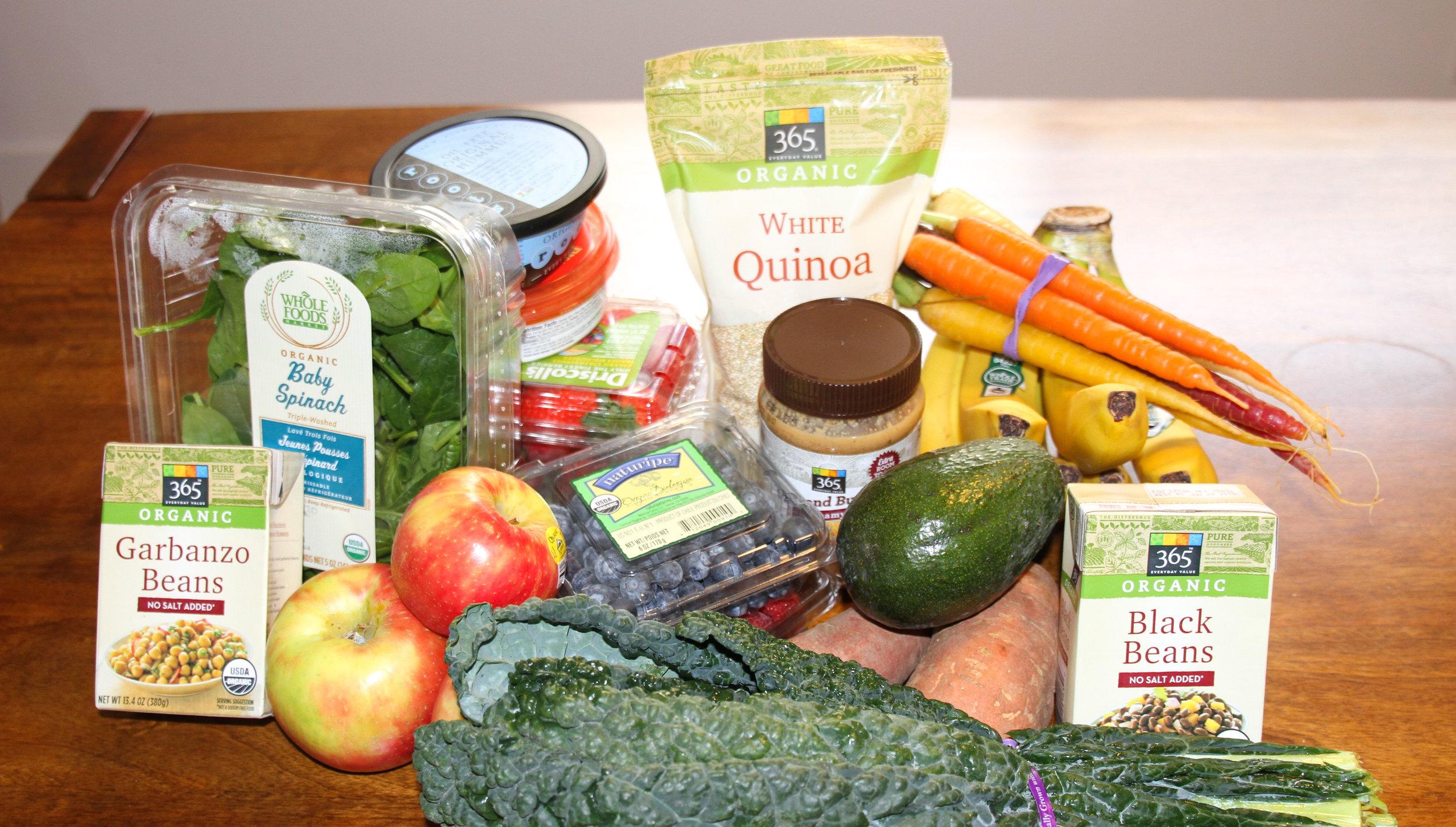 Vegan Healthy Grocery List