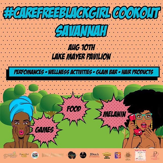 Today from 2-7 PM, join @carefreeblackgirl_inc for the #CareFreeBlackGirl cookout at Lake Mayer! - Good vibes • Music • Food • Performances • Wellness Activities + more ✨