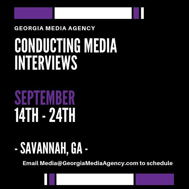Calling all creatives in Savannah! Schedule an exclusive interview with us and promote your brand! Email in bio. [No DMs please] — TAG a business owner or creative below 👇🏿 — #GeorgiaMediaAgency