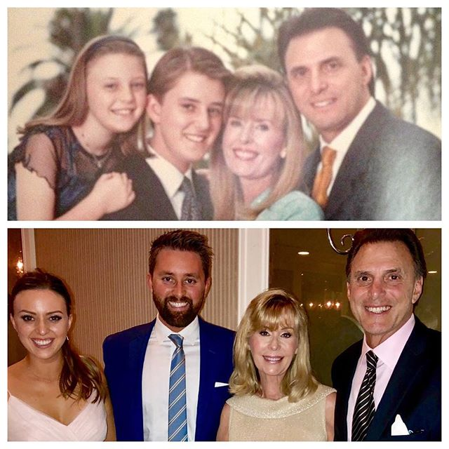 Same Family, just 18 years apart. I don't think we've changed a bit! . . . . #family #18 #beforeandafter #then #now #wedding #barmitzvah #sheftell #beautiful #classy #18years #years #timeaftertime #time #fun #dressedup #suit #tie #insta #instagood #instagram #instapic #love #familygoals #familyphotography #squad