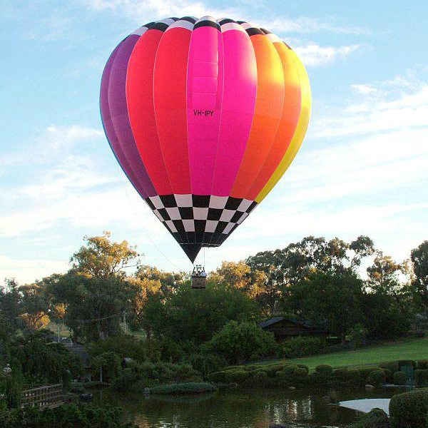 Balloon Joy Flight Hot Air Ballooning over Cowra Japanese Garden .jpg
