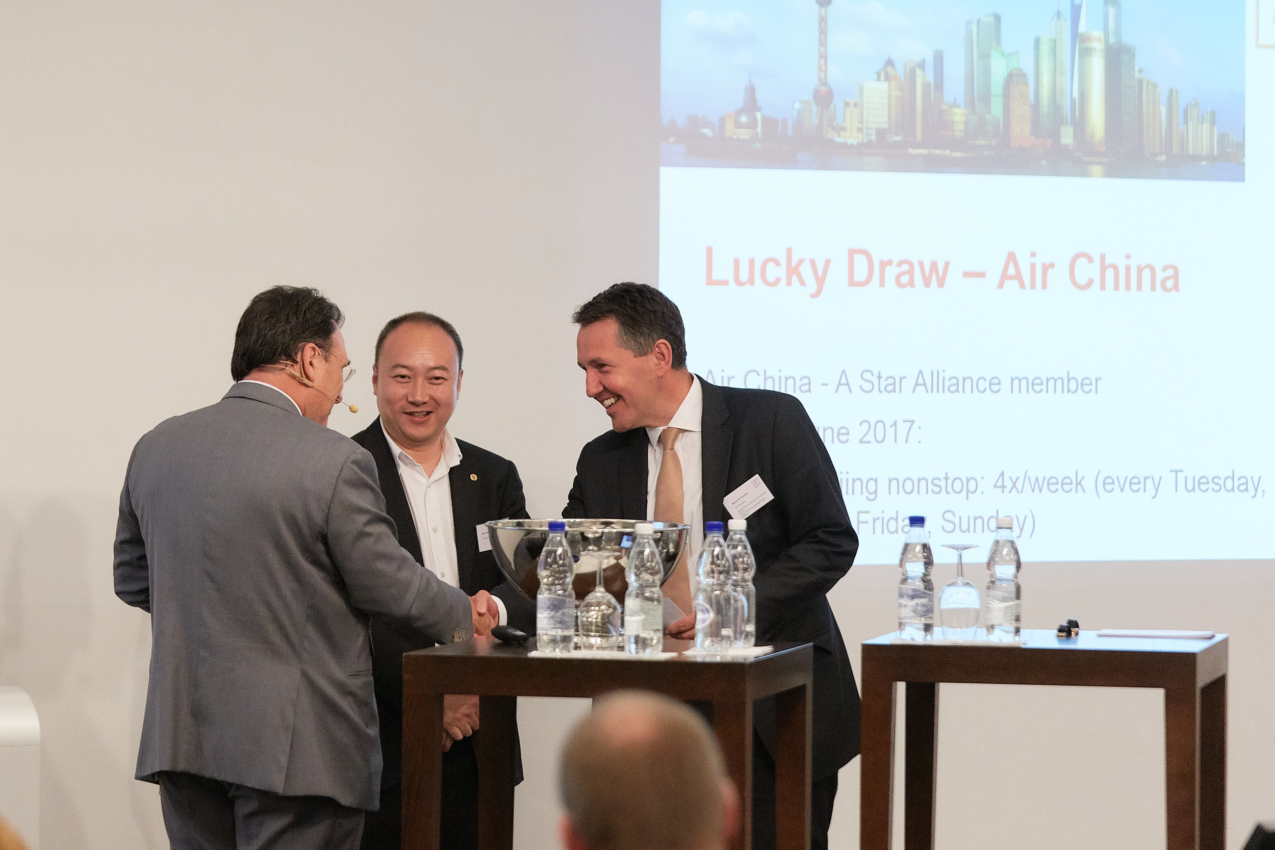 RMB Internationalization � Road to 2020 � Lucky Draw by Air China & Closing