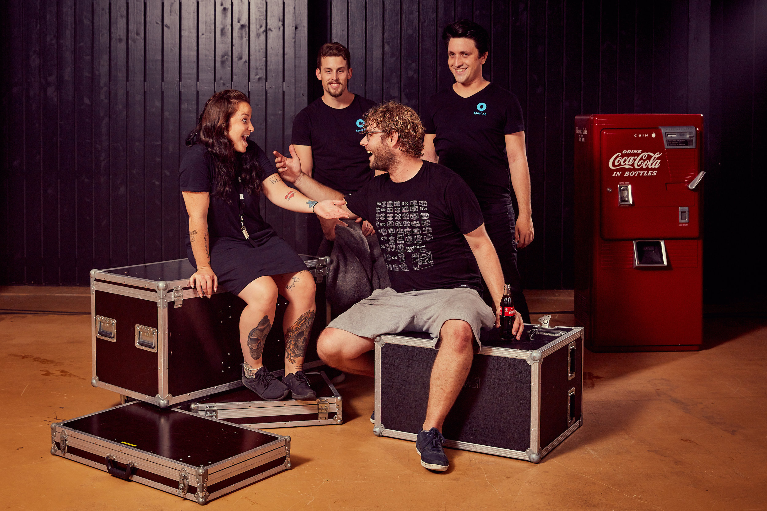mycokemusic Soundcheck 2017 - Das making of des Bandshootings