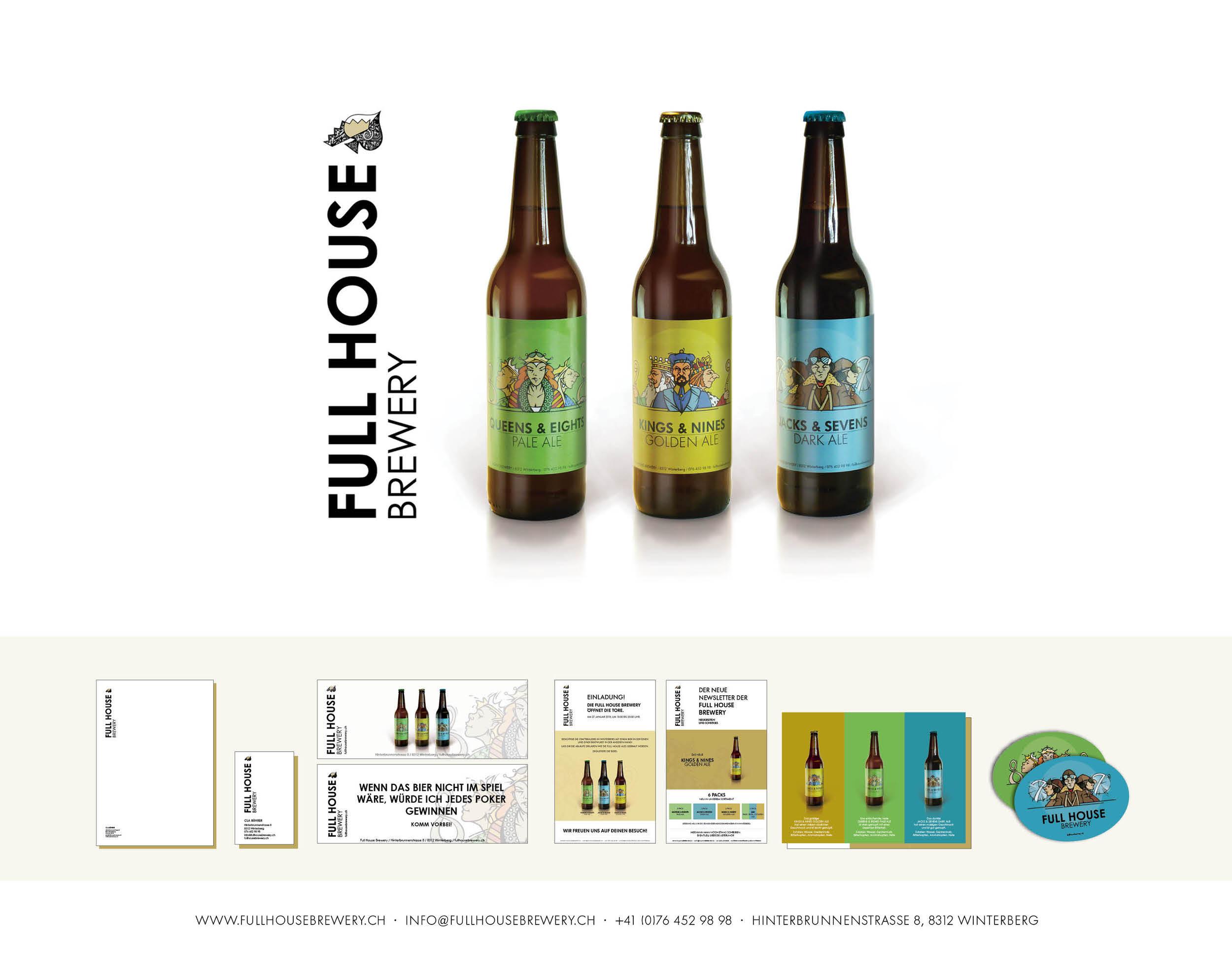 Gesamtgestaltung I Full House Brewery