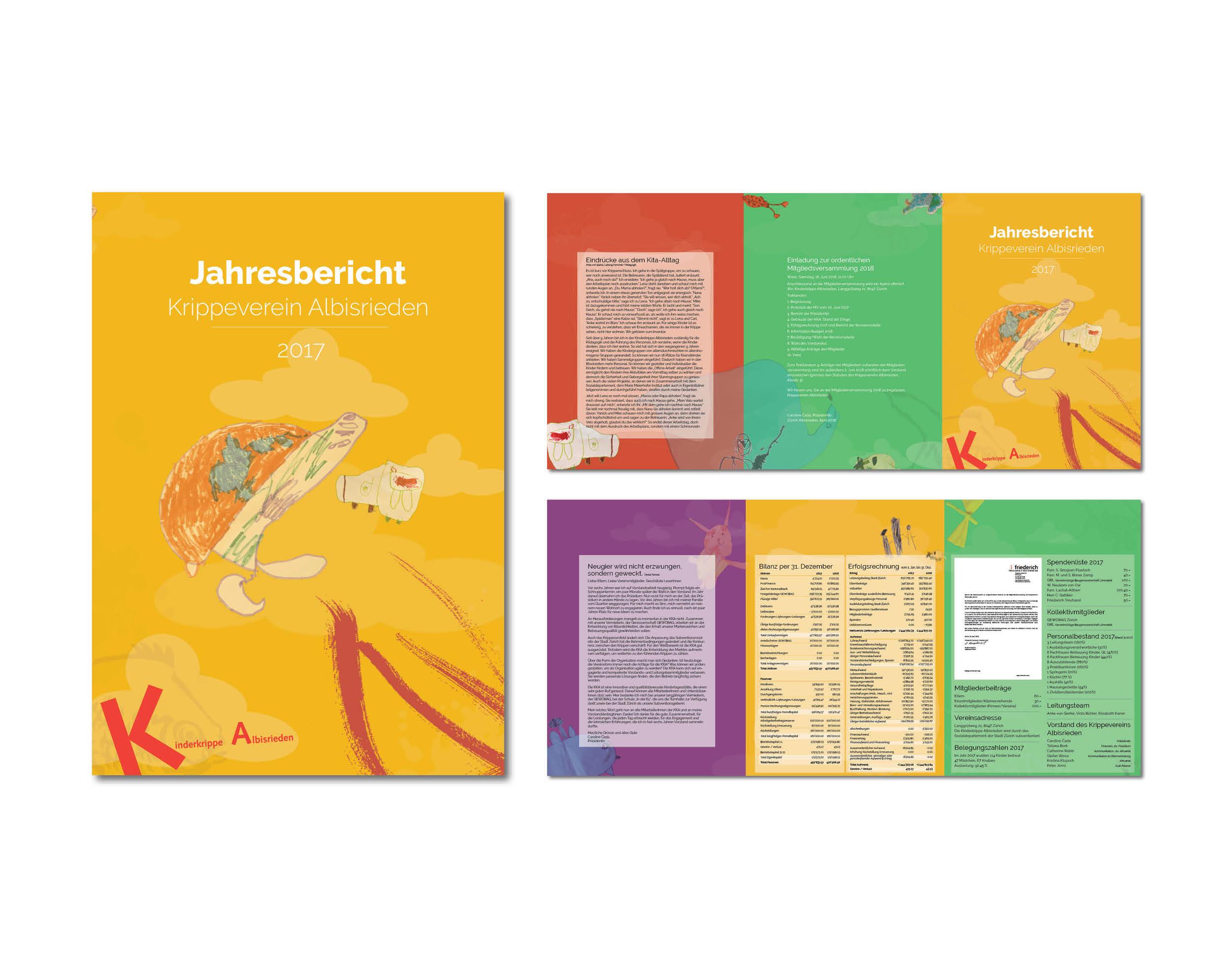 Gestaltung Jahresbericht I KKA