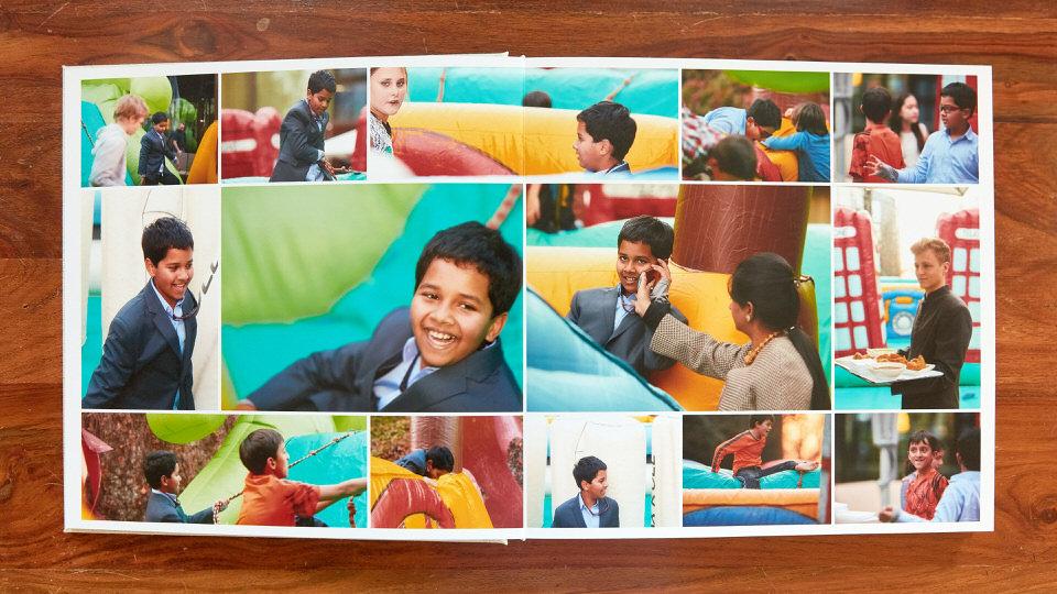 Gestaltung Fotobücher