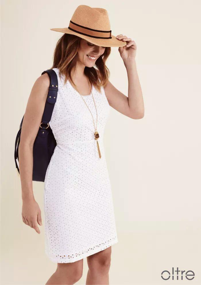 OLTRE - бел фустан за секоја пригода!