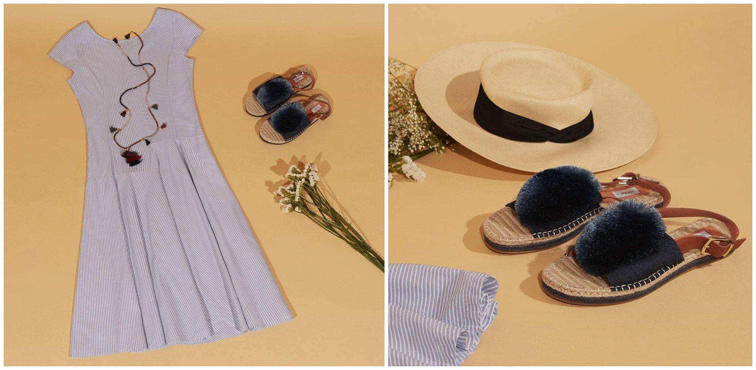 -50%, Фустан и сандали, Max&Co