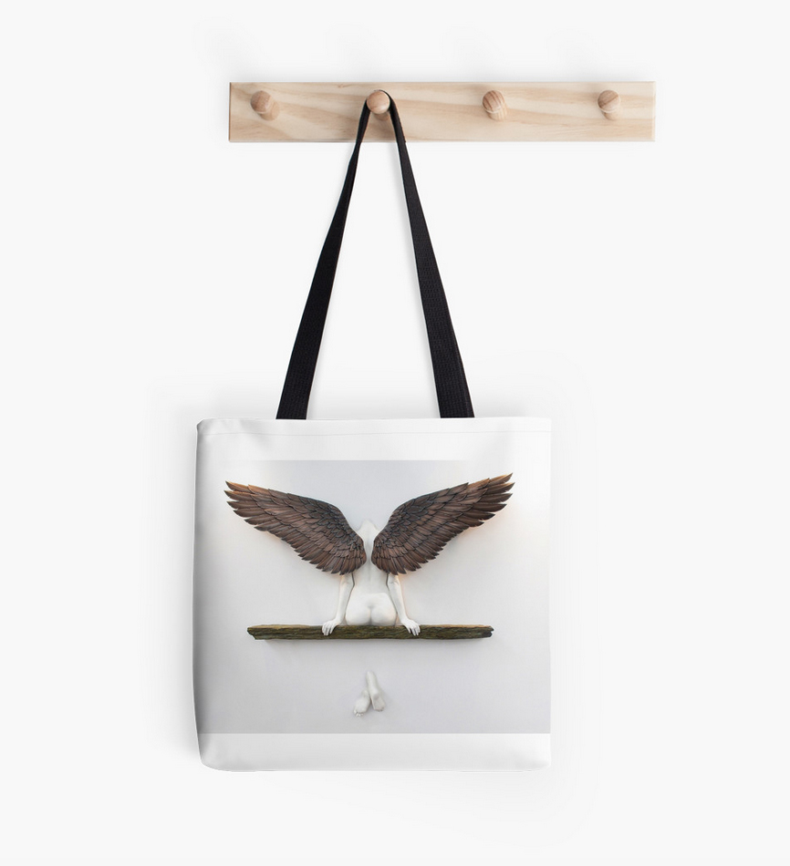 'Icarus had a Sister' tote bag from our gift shop.