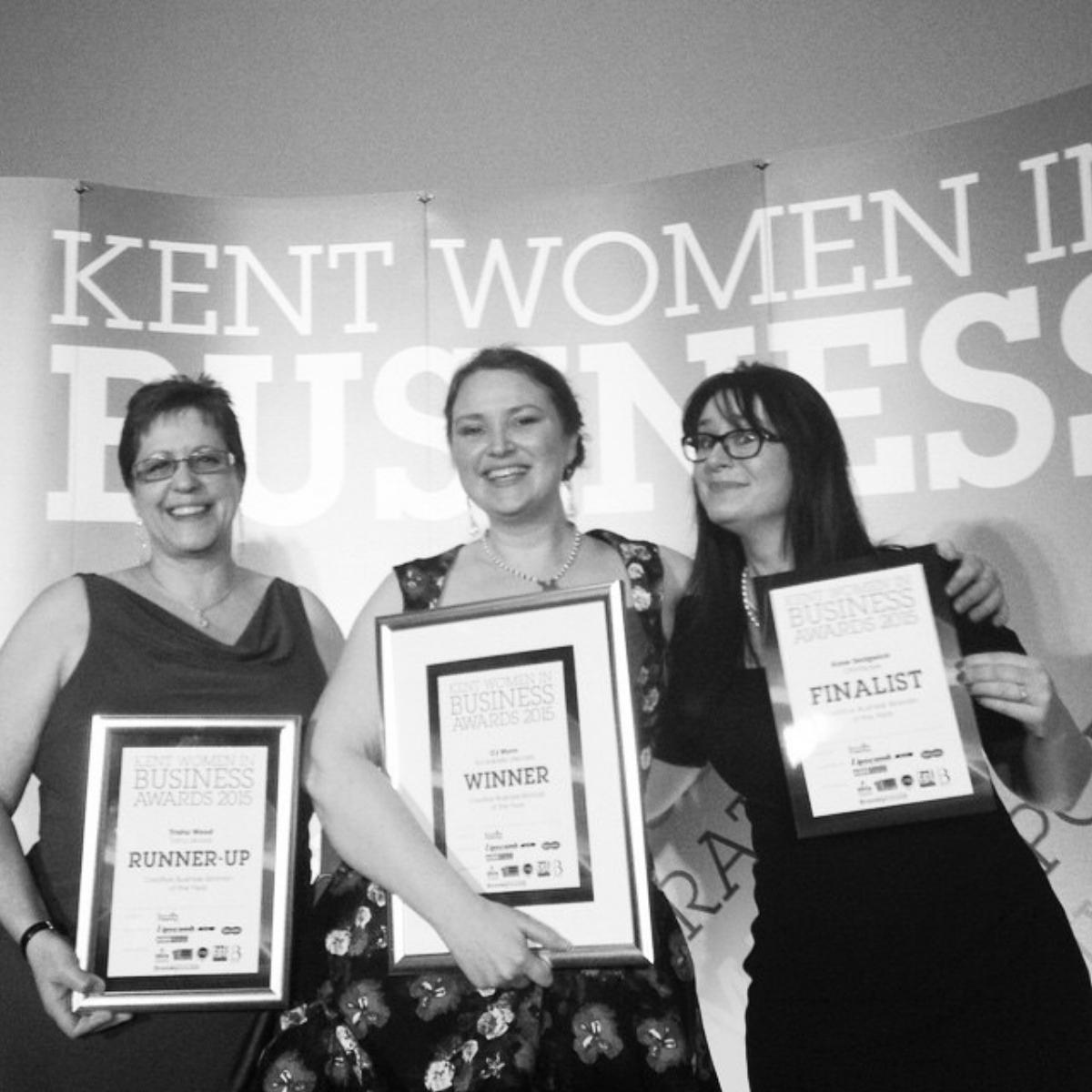 CJ Munn, Trisha Wood & Kaye Sedgwick-Jones receive awards
