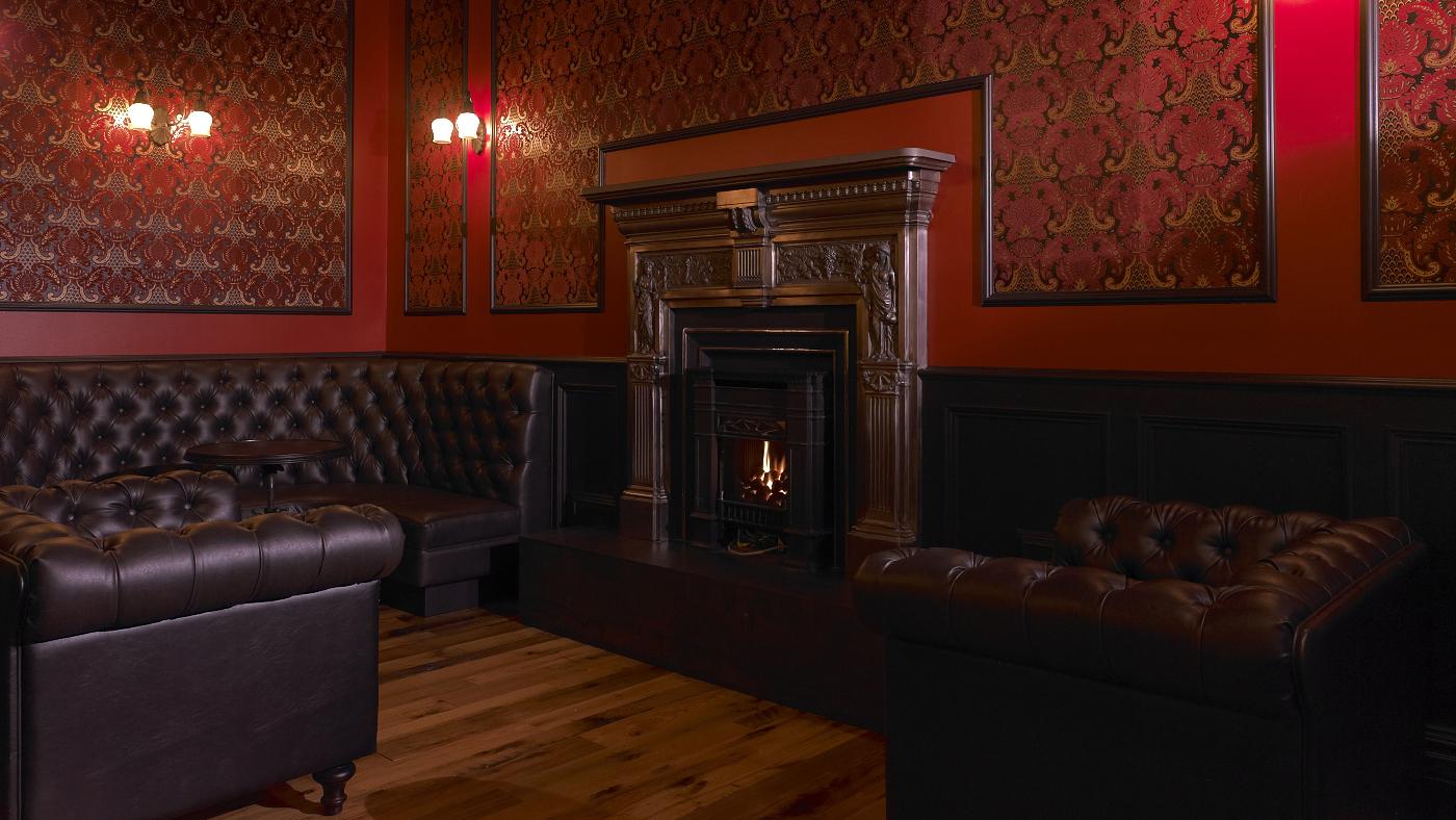 Backroom Fireplace