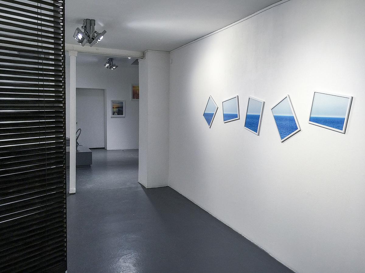Horizon  Neil Lang 2015 60 x 160 cm Polyptyque x 5 Ed.6 2 EA