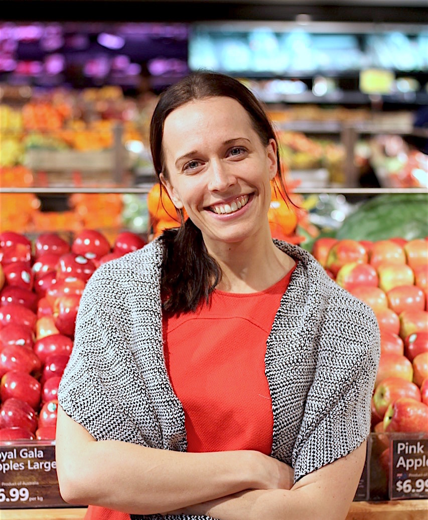 Our in-store Dietitian, Kali Gray.