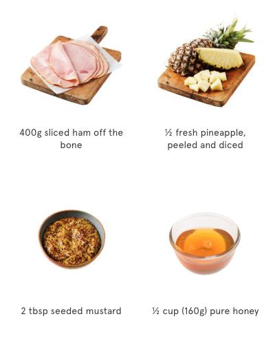 Ham & Pineapple Kebabs